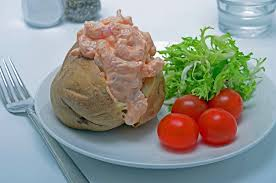 Prawn Baked Potato recipe